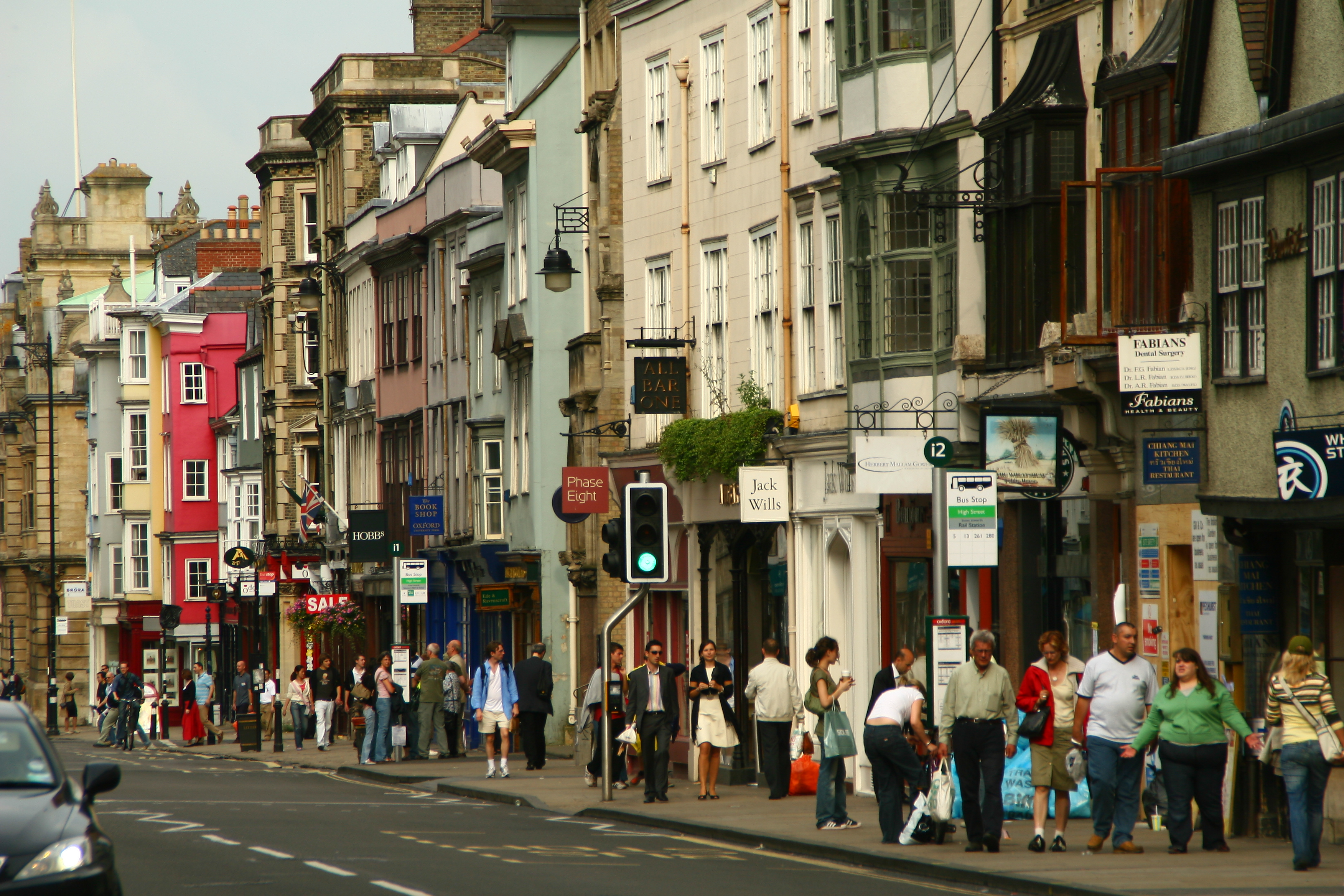 The high street is at risk (Credit: Flickr)