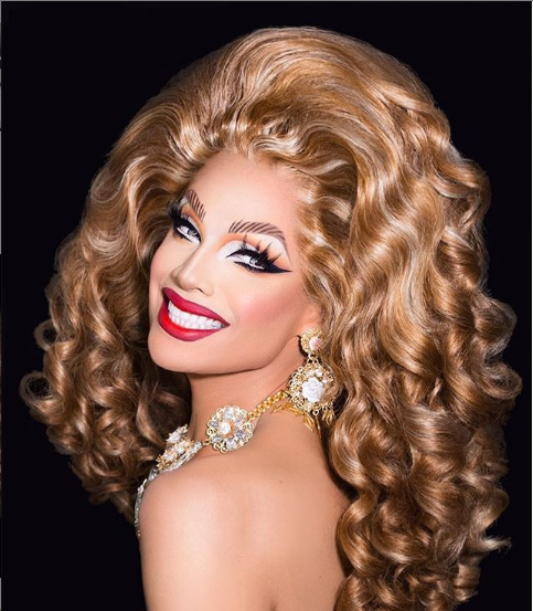 Valentina, one of the stars from the ninth season of RuPaul's Drag Race, has over a million followers on Instagram.