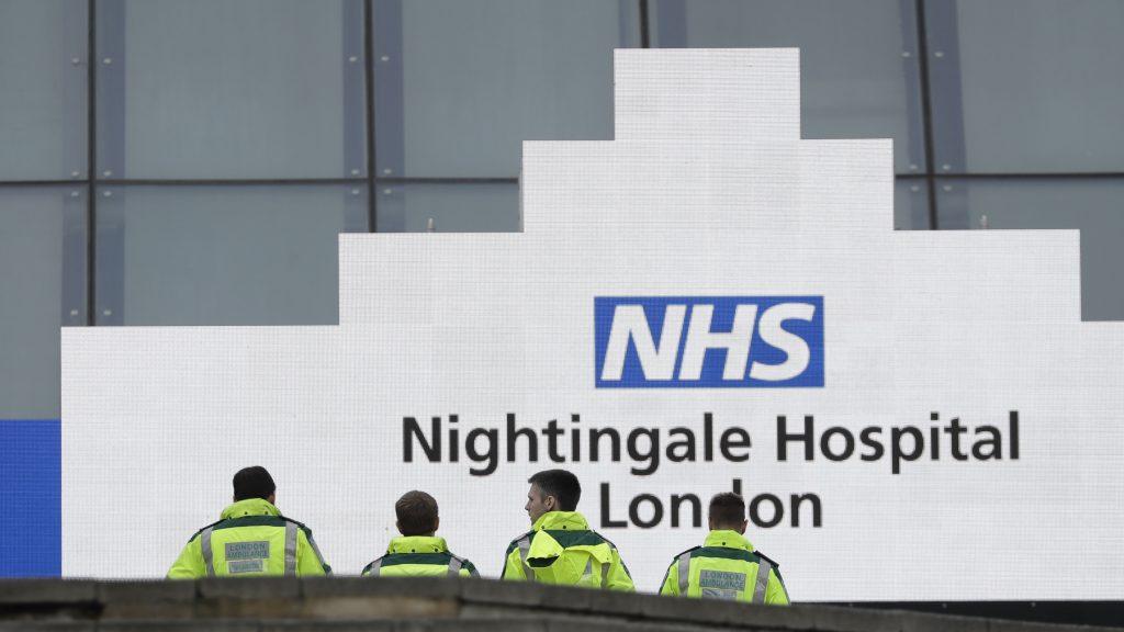 London ambulance paramedics