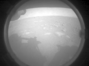 Perseverance Rover's first shots